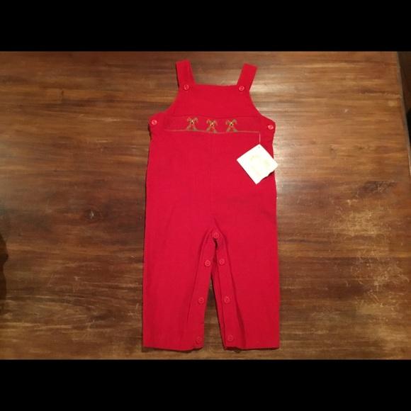 Boys VIVE LA FETE boutique outfit 18M 2T 3T NWT smocked owls orange fall romper